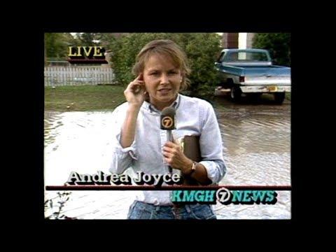 Cheyenne Wyoming Flash Flood 1985 News Coverage