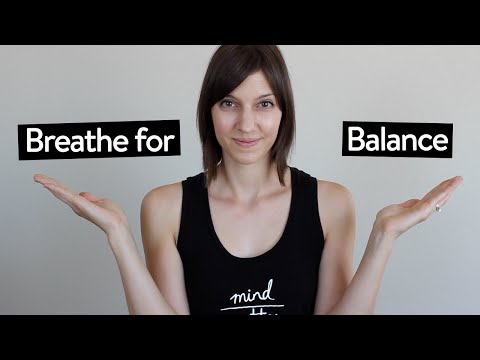 Yoga Breathing Exercise for Balance | Nadi Shodhana