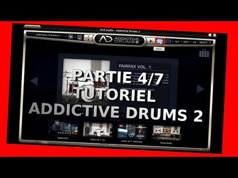 Addictive Drums 2 - Tutoriel 4/7 - Présentation rapide - XLNaudio - Home Studio