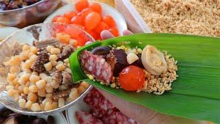 端午少不了的南方肉粽做法,餡料豐富,鹹香軟糯,比外面買的好吃【夏媽廚房】