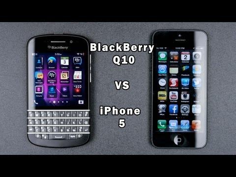Blackberry Q10 vs IPhone 5 Full In-Depth Comparison