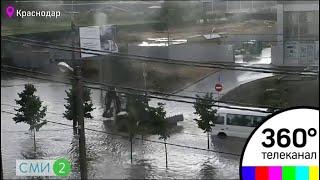 Улицы Краснодара превратились глубокие реки - СМИ2