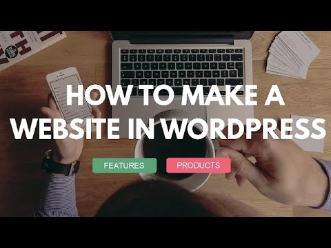 How to Make a Website with WordPress 2016 – Tutorial for Beginners – Free Theme – Awesome