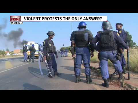Service delivery protests spread across Johannesburg