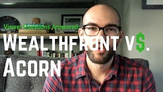 Wealthfront Vs. Acorns