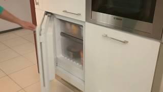 видео Маленькая морозильная камера на кухне