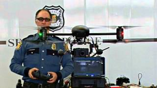 Seattle Police Unveil Drones! Mark Taylor-Canfield Free Speech Radio News