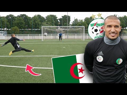 JE DÉFIE UN JOUEUR DE L'EQUIPE NATIONALE D'ALGERIE ! (la plus grosse frappe que j'ai vu de ma vie)