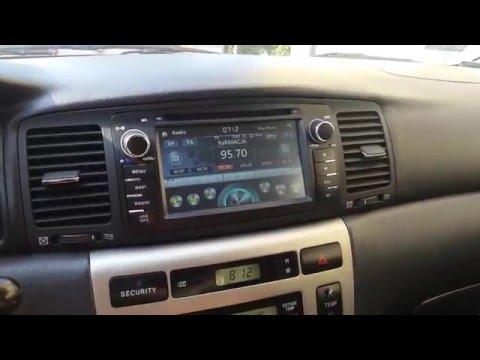 RADIO DVD GPS BLUETOOTH 3G USB Toyota Corolla E12