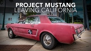 Mustang Road Trip | Leaving California