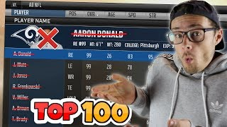 Download WHAT WOULD HAPPEN IF EVERY TOP 100 PLAYER VANISHED FROM THE NFL?? Madden 18 Mp3 and Videos