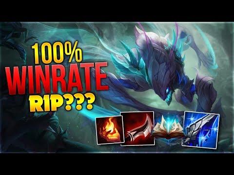100% Winrate RIP??? Khazix Toplane [League of Legends] [Deutsch / German] thumbnail
