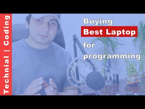 buying best laptop for programming