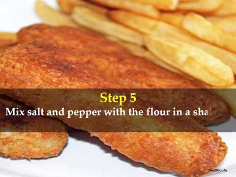 How To Make Oven Baked Fish And Chips