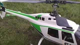 Uzaktan kumandali helikopter Benzinli Nitro ilk uçuş