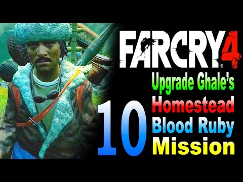 Far Cry 4 - Upgrade Ghale's Homestead / Blood Ruby Mission Part 10