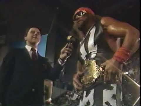 WWF Dino Bravo & Macho Man 1988