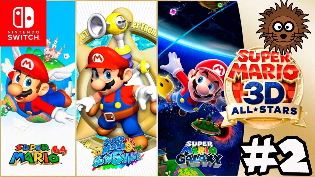 Super Mario 3D All Stars: Super Mario Galaxy en Español #2 - Nintendo Switch