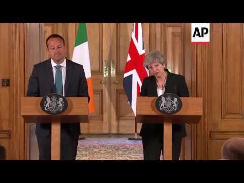 UK PM and new Irish Taoiseach comment on talks