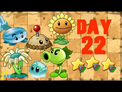 Plants vs. Zombies 2 China - Wild West Day 22 Lock and Loaded《植物大战僵尸2》- 狂野西部 22天 - 동영상