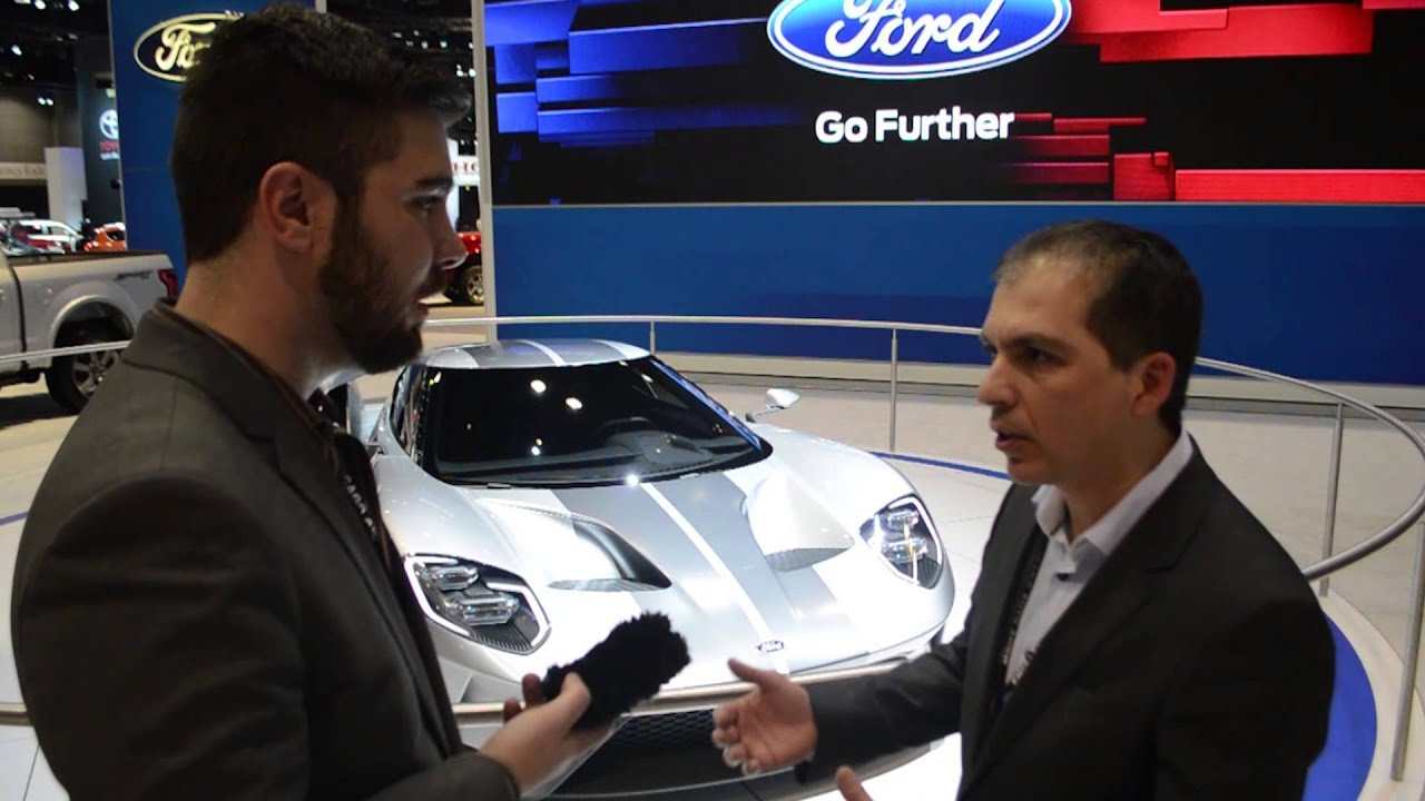 Interview With  Ford Gt Designer Garen Nicoghosian Boldride Com