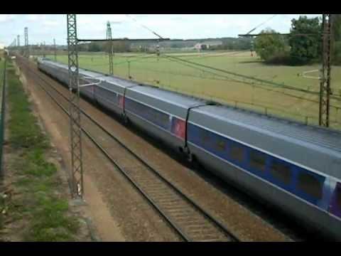Une Après Midi Varié à Poitiers (Fret SNCF, ECR, INFRA, TGV, TER)