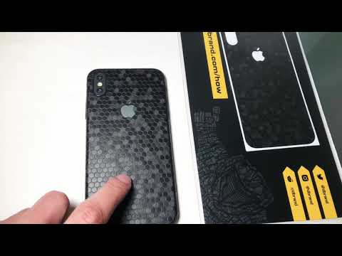 dbrand NEW Black Swarm Skin iPhone X XS