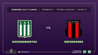 Excursionistas 3 - 2 Defensores de Belgrano | #VamosLasPibas | Fútbol femenino