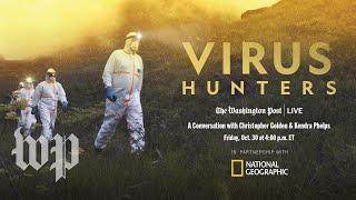 """Virus Hunters"" with Christopher Golden & Kendra Phelps (Full Stream 10/30)"