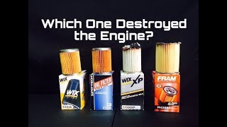 WIX vs Fram Ultra vs WIX XP vs Walmart Supertech Oil Filters Review - CUT OPEN AND WEIGHED!