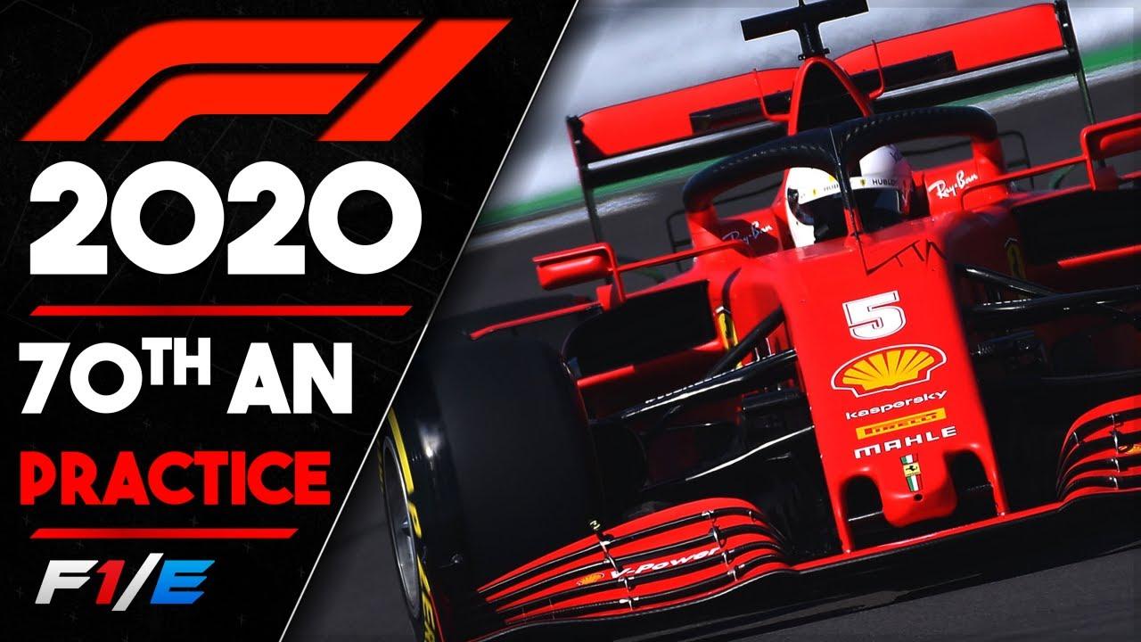 70th Anniversary Grand Prix Practice Report F1 2020