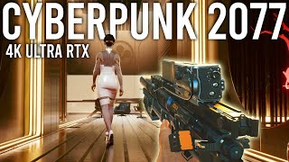 Cyberpunk 2077 Part 2 RTX 4K Ultra gameplay - The Graphics are Crazy!