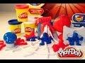 Juego de Play-Doh El Hombre Araña| Spider- Man Play-Doh| Mundo de Jugutes