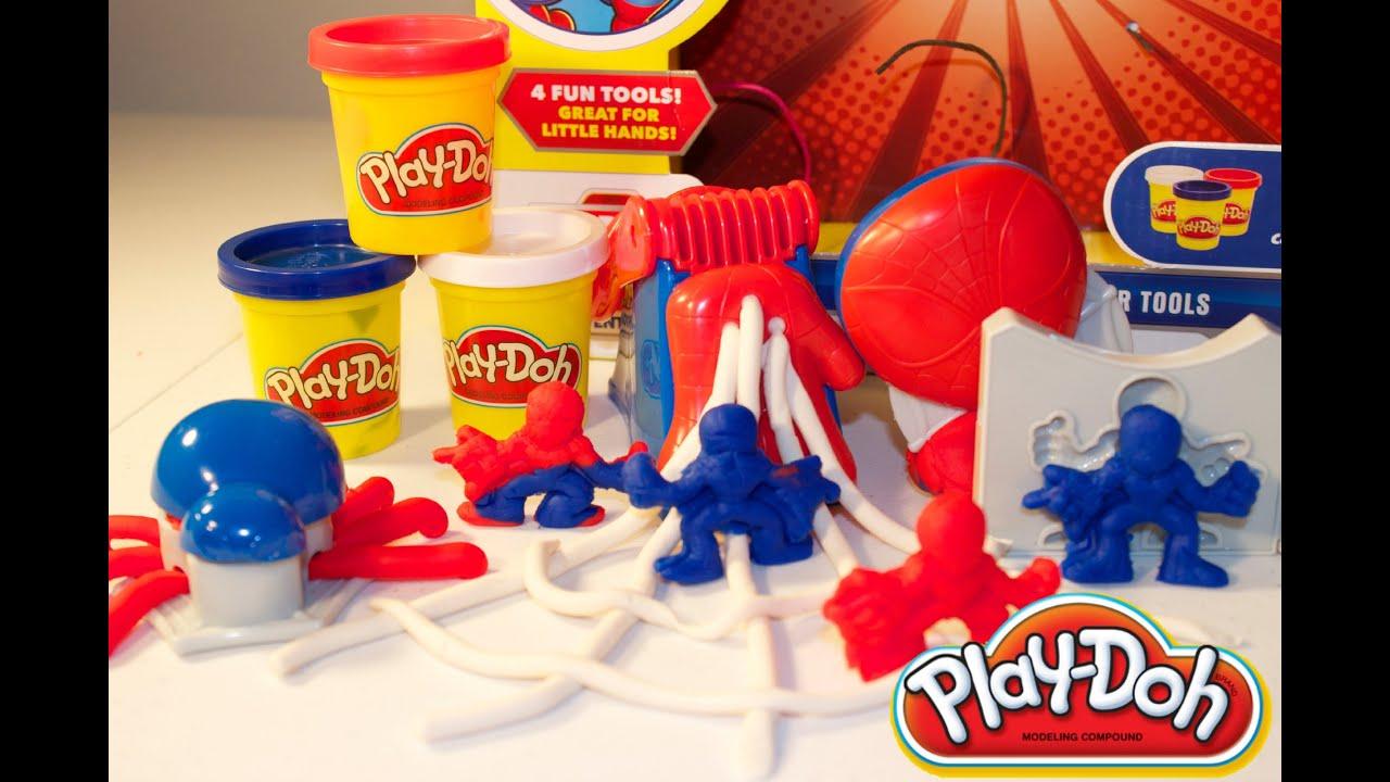 Juego de PlayDoh El Hombre Araa Spider Man PlayDoh Mundo de