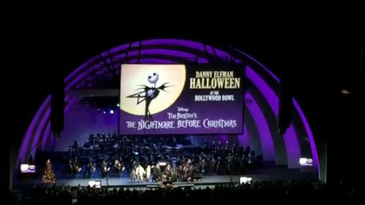 Danny Elfman - Nightmare Before Christmas at the Hollywood Bowl ...