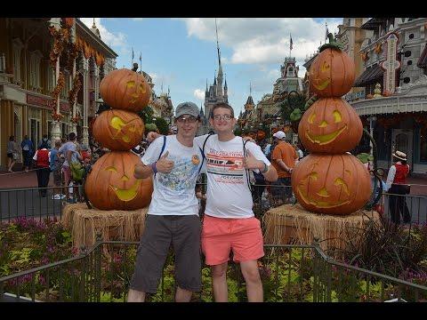 Magic Kingdom Walt Disney World Vlog October 2016