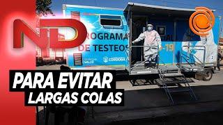 Coronavirus: Desentralizan los testeos en Córdoba Capital