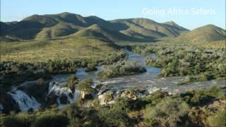 Epupa Falls en Kunene River in Kaokoland