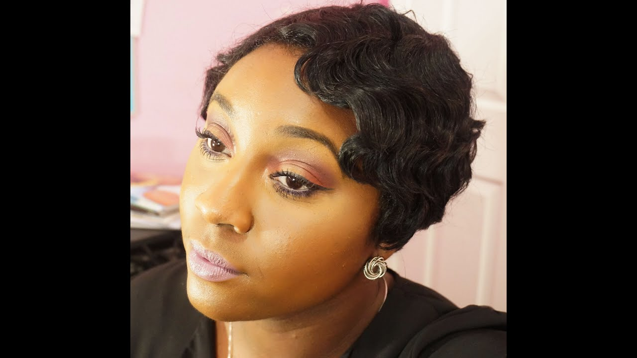 did you cut your hair!?| 1920's fingerwaves| h.kea wig motown