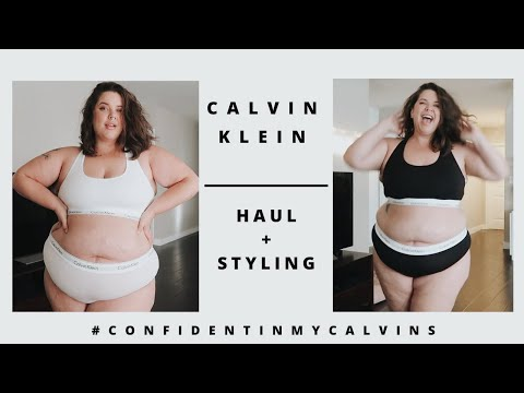 CALVIN KLEIN Haul/Styling + 3 Quick Confidence Tips