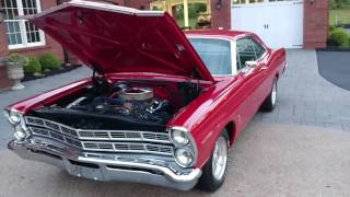 1967 Ford Galaxie 500 390 4 speed