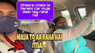 RASH DRIVING PRANK ON MOM// aaj to fast & furious bana diya  😂 (Must Watch)