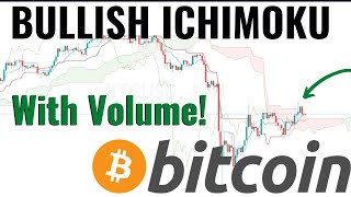 BITCOIN BULLISH Ichimoku Cloud WITH VOLUME!!