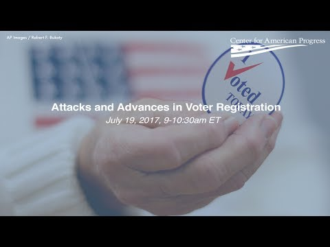 Attacks and Advances in Voter Registration