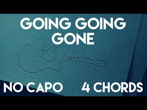 How To Play Going Going Gone by Maddie Poppe | No Capo (4 Chords) Guitar Lesson
