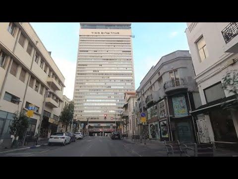 Driving Rothschild Boulevard Tel Aviv Israel 2019 נסיעה בשדרות רוטשילד תל אביב ישראל