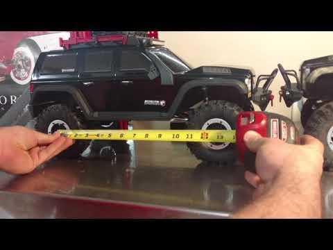 Redcat Gen7 shortening the wheelbase