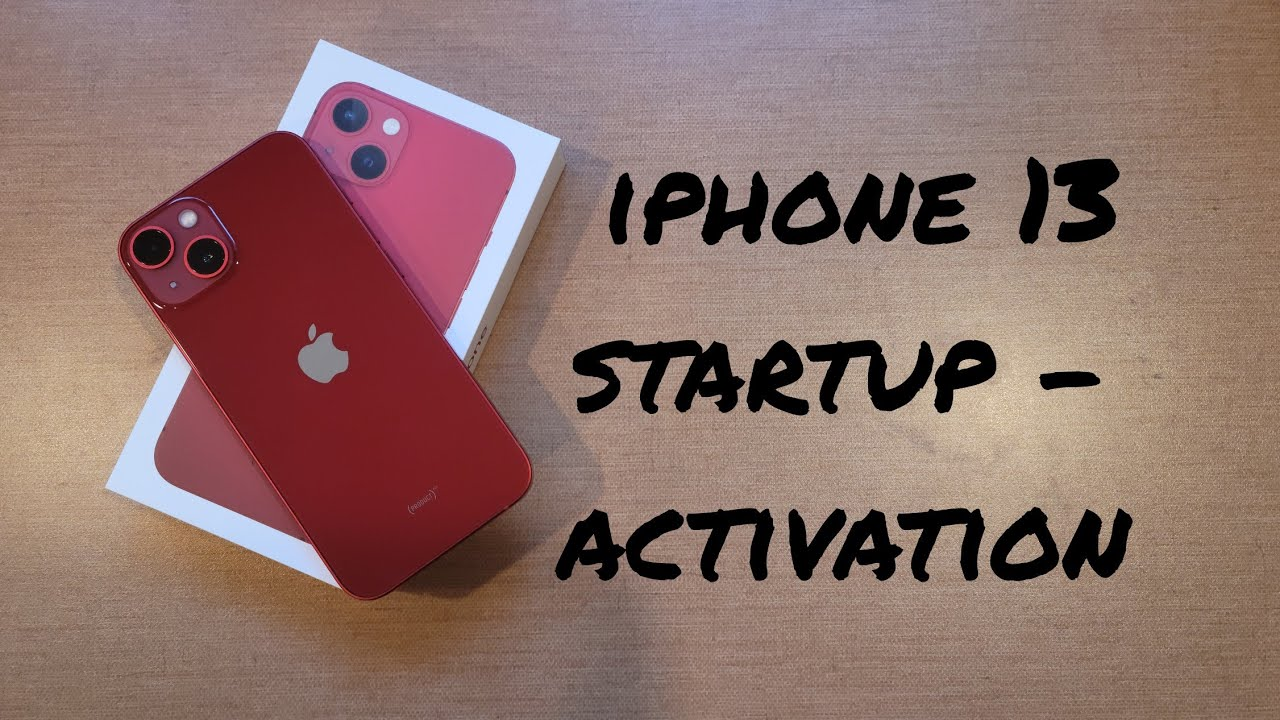 iphone 13 activation /startup