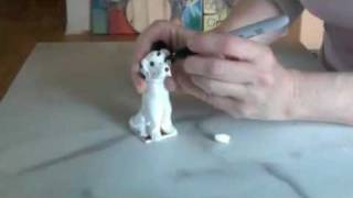 How To Make A Polymer Clay Dalmatian