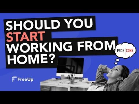 Advantages of Working From Home – Pros and Cons